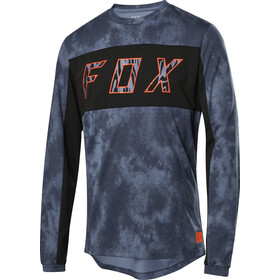 Fox Ranger Dri-Release Elevated Maillot À Manches Longues Homme, blue steel